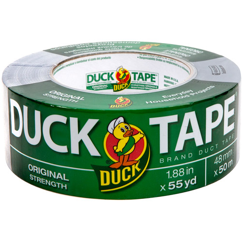 "Duck Brand Duct Tape, Original Strength, 1.88"" x 55 yds, Silver"