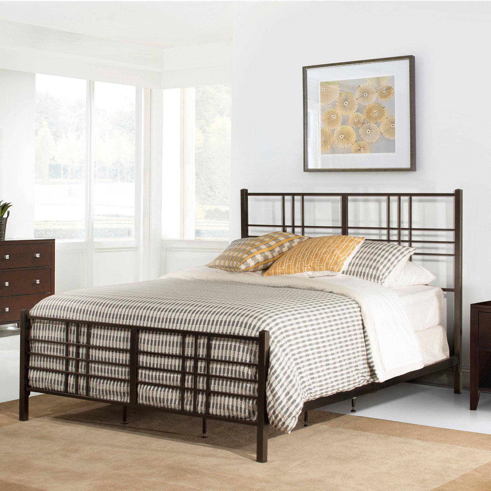Hillsdale Furniture Manhattan Headboard with Bedframe, Multiple Sizes