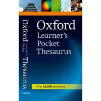 Oxford Learner's Pocket Thesaurus (Paperback)
