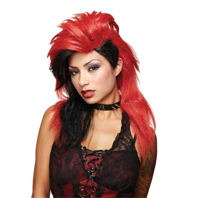 Costumes for all Occasions MR177578 Wicked Desire Red Black Wig
