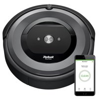 iRobot Roomba e6 (6134) Wi-Fi Connected Robot Vacuum - Wi-Fi Connected, Works with Alexa, Ideal for Pet Hair, Carpets, Hard, Self-Charging Robotic Vacuum