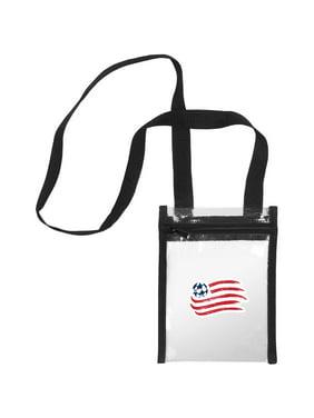 New England Revolution Women's Clear Crossbody Tote Bag