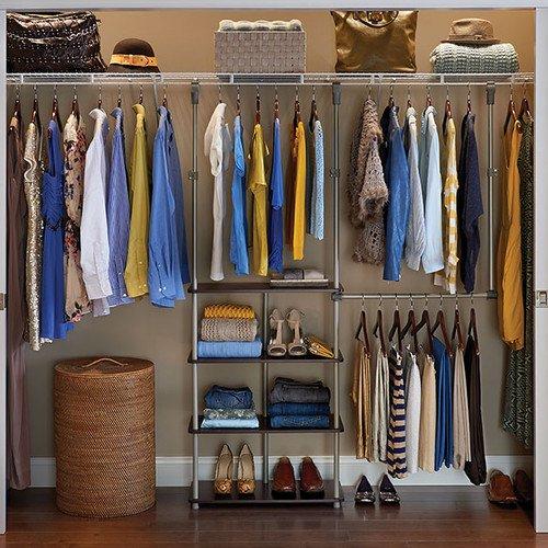 ... ClosetMaid 53u0027u0027W Closet System ...