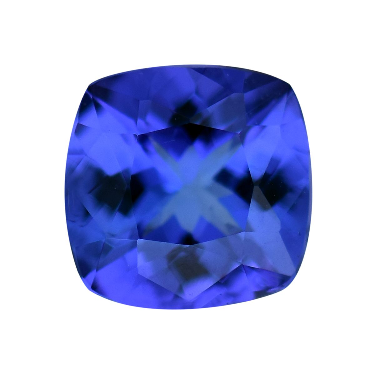 Tanzanite Cush 7x7 mm 3A 1 cttw by Shop LC