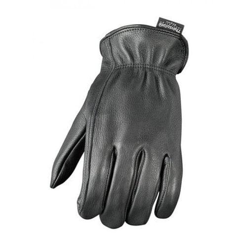 Camoplast BCS-701-M Mossi Mens Lined Deerskin Glove Medium Black