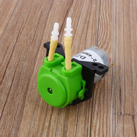 Peristaltic Liquid Pump,Dosing Pump 12V DC DIY Peristaltic Liquid Pump Hose Pump Dosing Head for Aquarium Lab Analytical Water (Green),Peristaltic Liquid Pump,Dosing Pump 12V DC DIY Peristaltic (Best Reef Dosing Pump)