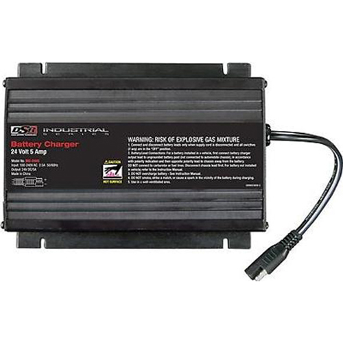 Automatic Car Battery Charger Schumacher Electric INC-2405 Battery Charger/Maintainer 5 Amp, for 24 ...