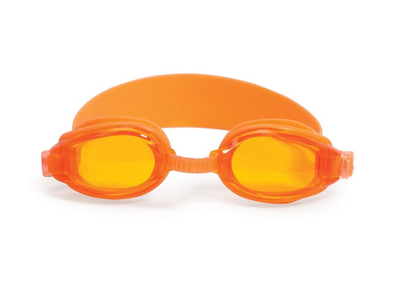 """6.25"""" Advantage Orange Goggles Swimming Pool Accessory for Juniors by Swim Central"""