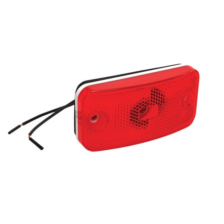 RV Designer E395 Fleetwood-Style Clearance Light - Red