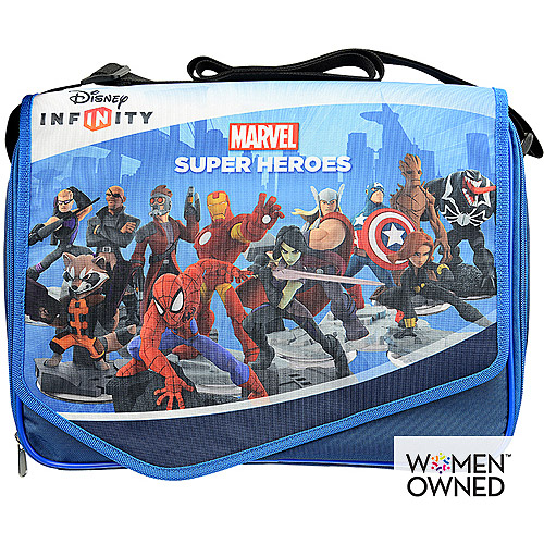 Disney Infinity 2.0 Play Zone Figures & Power Disc Large Carrying Case with Mat