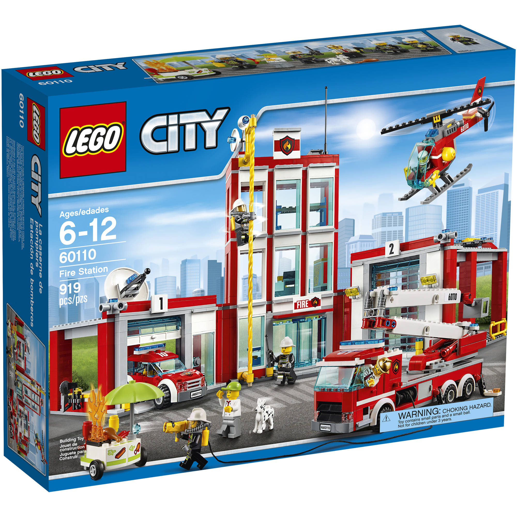 Lego City Fire Fire Station 60110 by LEGO Systems, Inc.