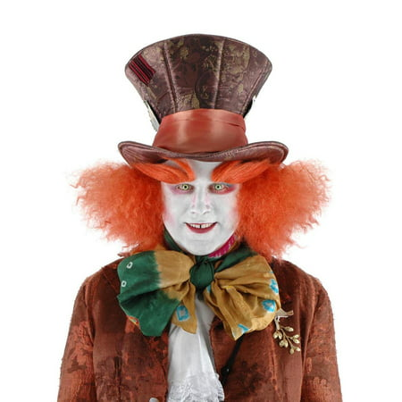 Alice In Wonderland Mad Hatter Costume Eyebrows Adult One - Alice In Wonderland Mushroom Costume