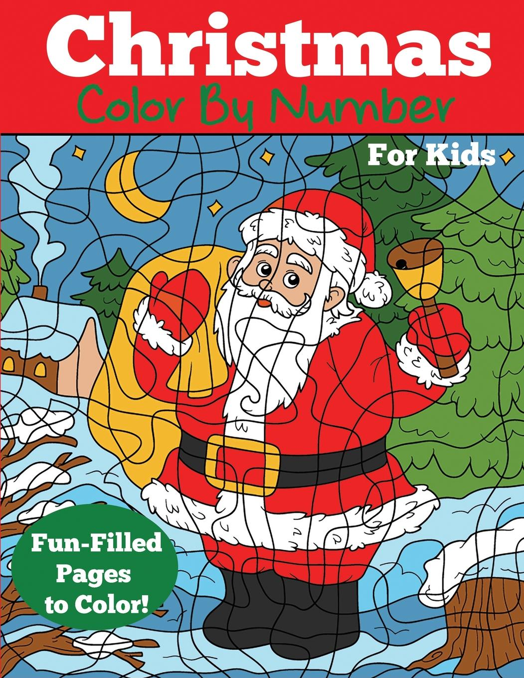 - Color By Number Books: Christmas Color By Number For Kids: Christmas Number Coloring  Book (Paperback) - Walmart.com - Walmart.com