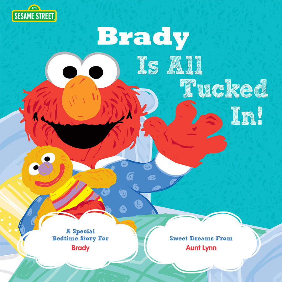 Personalized Book - All Tucked In On Sesame Street!