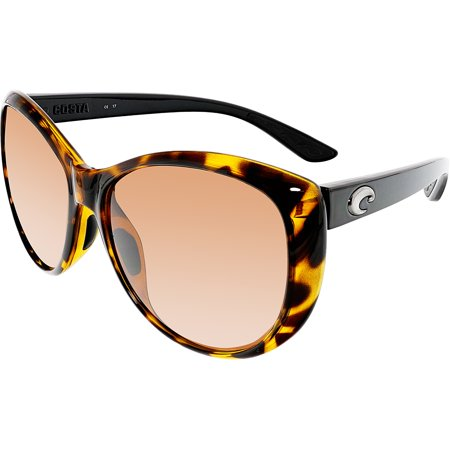 88fed82cfa Costa Del Mar - Costa Del Mar Polarized La LM76OCP Brown Oval Sunglasses -  Walmart.com