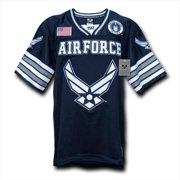 Rapid Dominance R11-AIR-NVY-02 Football Jerseys, Air Force Wing, Navy, Medium