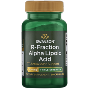 Swanson R-Fraction Alpha Lipoic Acid - Triple Strength 300 mg 30 Capsules