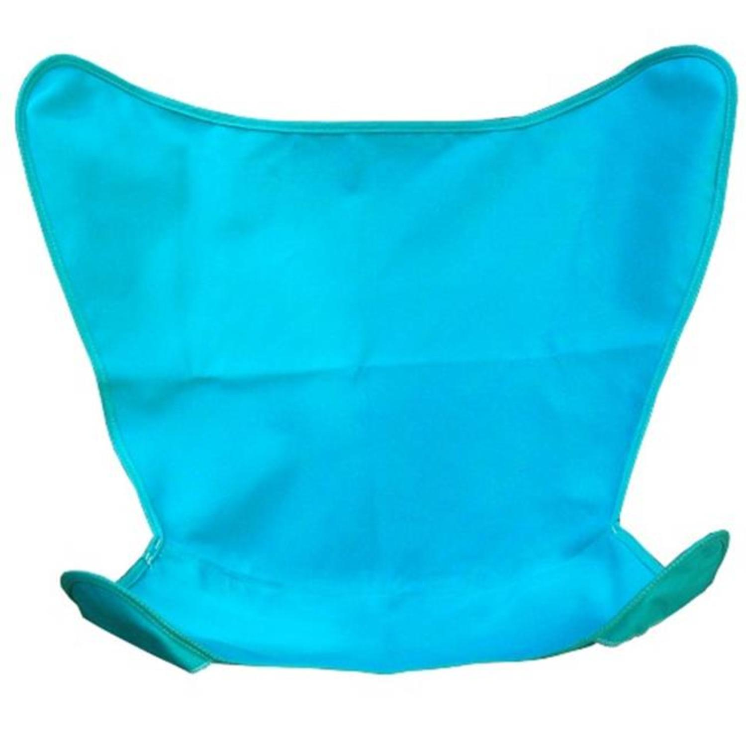 """35"""" Teal Duck Cotton Replacement Cover for Retro Butterfly Outdoor Patio Chair"""