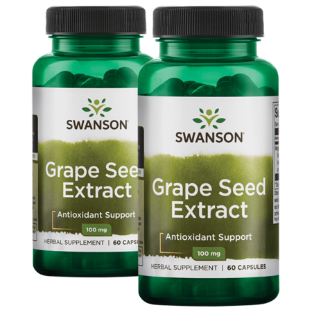 Swanson Grape Seed Extract 100 mg 120 Caps (Grape Seed Extract Dosage For Aromatase Inhibitor)