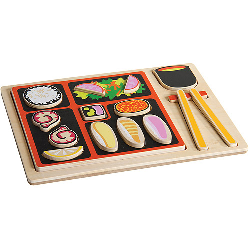 Guidecraft Sorting Food Tray, Japanese