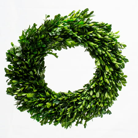 Fake Boxwood Wreath (Richland Preserved Boxwood Wreath)