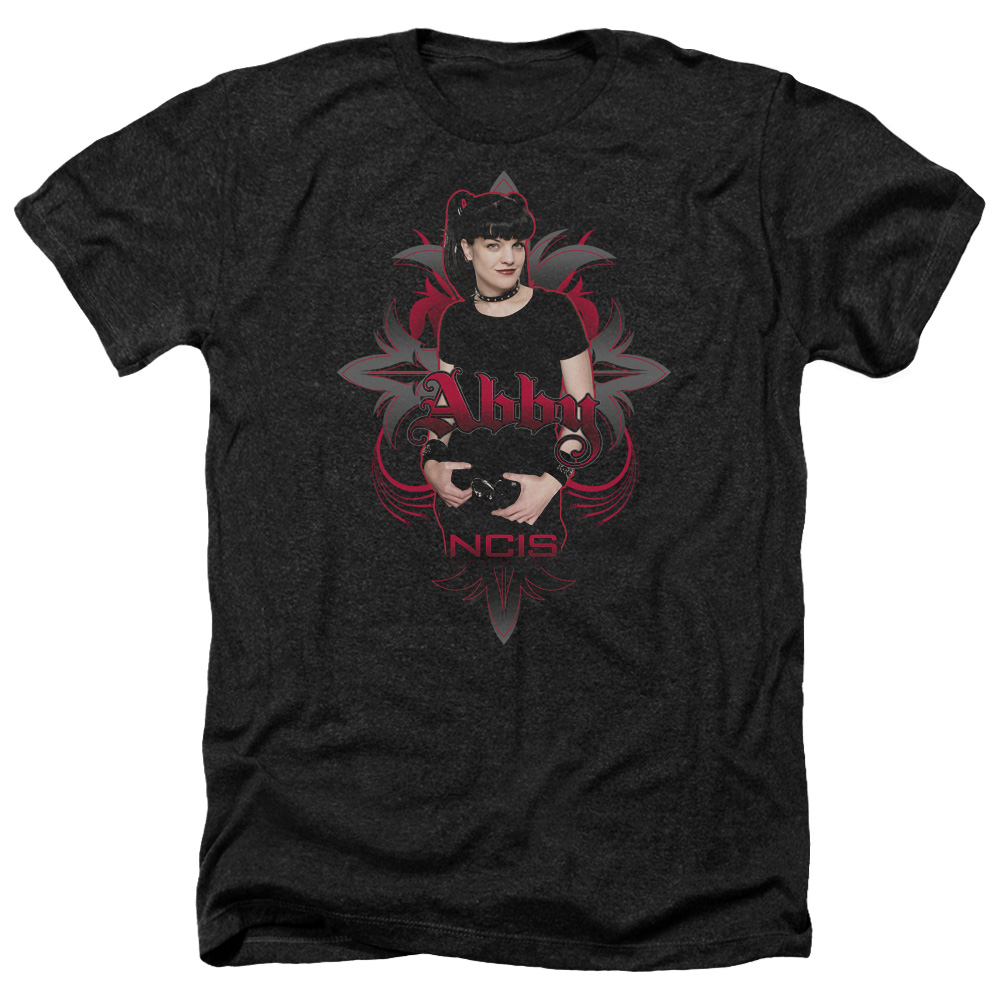 Ncis Abby Gothic Mens Heather Shirt