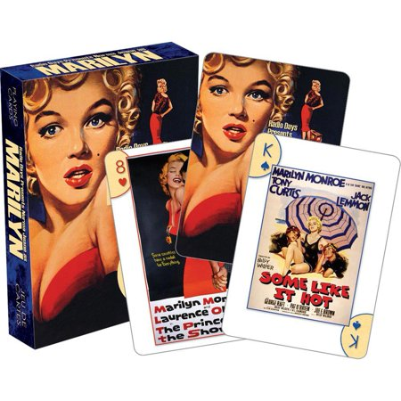 Marilyn Monroe Vinyl (Marilyn Monroe Playing Cards,  Card Games by NMR Calendars )