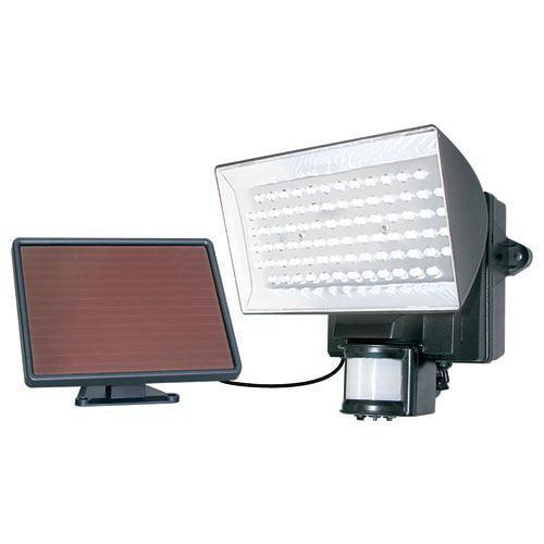 Light Security, Maxsa Solar Porch Motion Sensor Spotlight Security Light, Black
