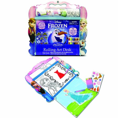 Disney Frozen Rolling Art Desk - image 2 de 2