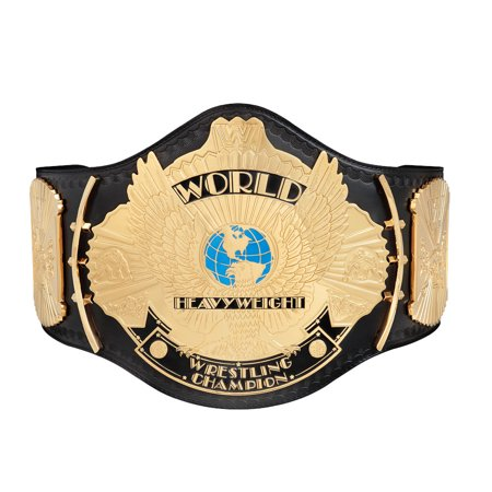 Official WWE Authentic  Replica Winged Eagle Championship Title (Wwe Replica Championship Belts)