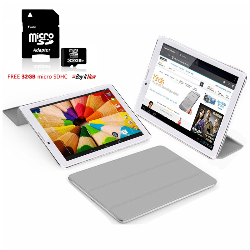 "Indigi® 7.0"" 3G Unlocked 2-in-1 Android 4.4 KitKat SmartPhone & TabletPC w/ Built-in Smart Cover + 32gb microSD(Grey)"