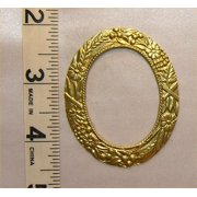 Dollhouse Picture Frame,Lg Oval, Gold Color