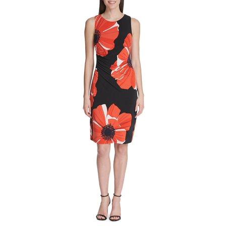 Jumbo Poppy Jersey Sheath Dress (Splendid Jersey Tank Dress)