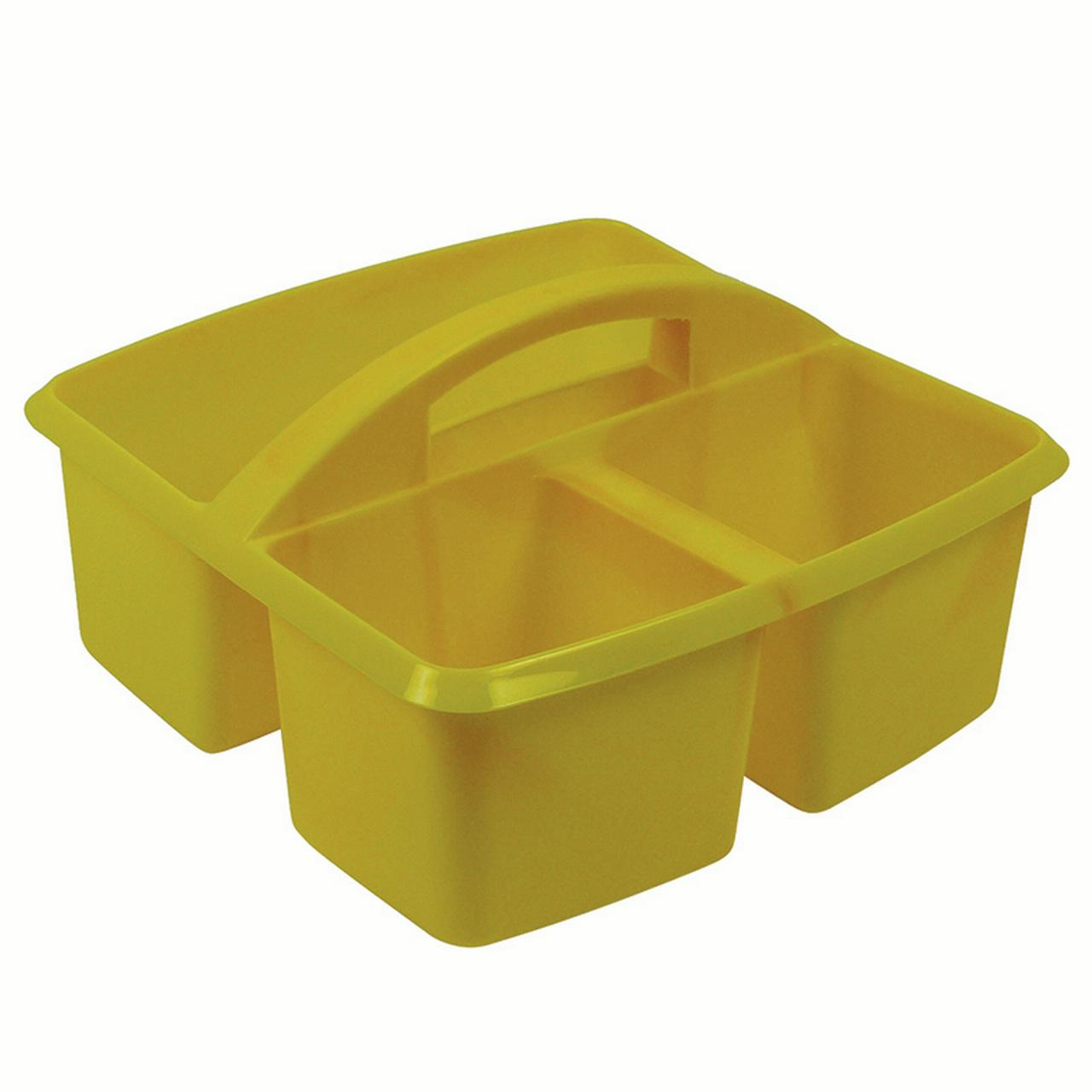 SMALL UTILITY CADDY YELLOW