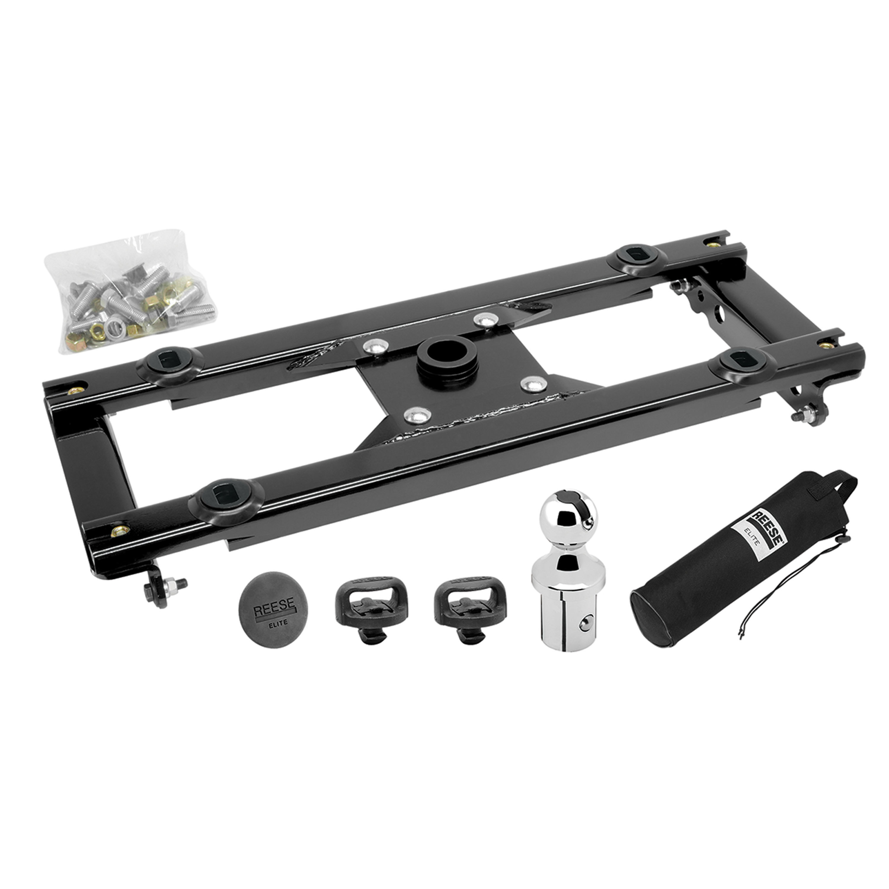 Reese 30138-26 Elite Under-Bed 25K Complete Gooseneck Hitch - Ford Super Duty '11-'16