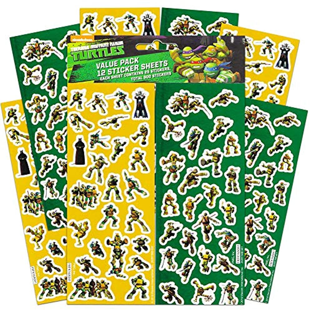 Diy TMNT  Birthday Party Ninja Turtles Favor Tag TMNT Sticker TMNT Thank You Tag Ninja Turtles Thank You Sticker 2.5 inch Circle