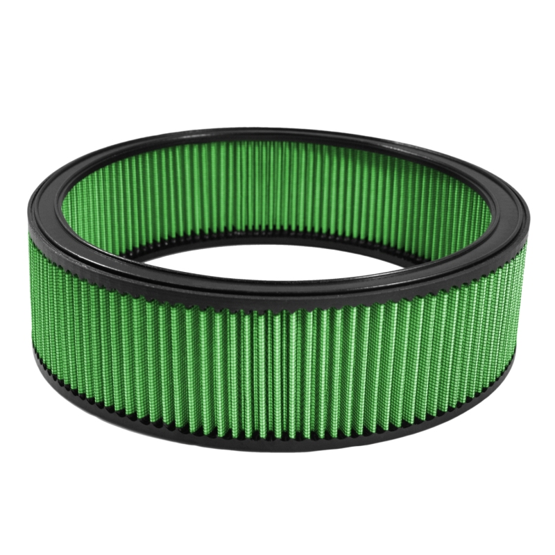 Green Filter Universal Round Filter // ID 12in // H 4in. OD 14in