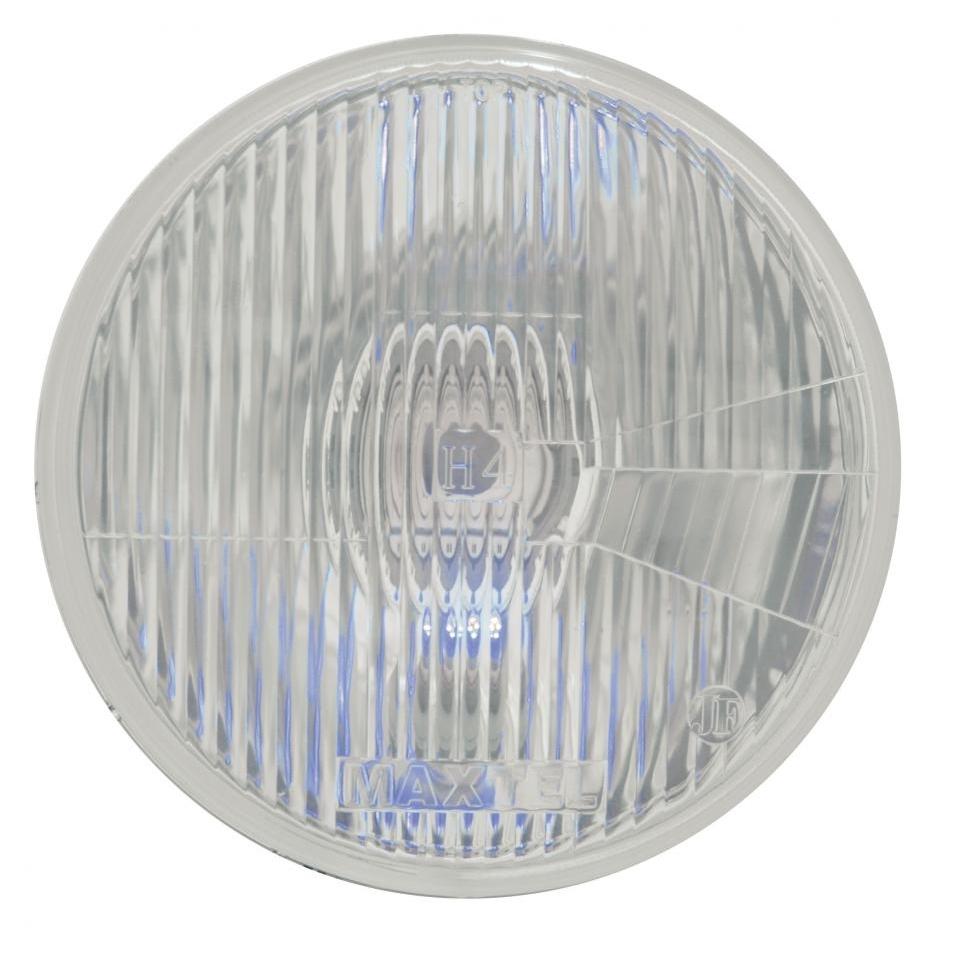 "7"" Headlight w/ 4 LED Accent Light - Blue"