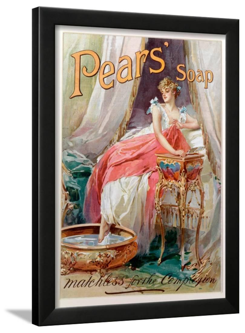 Pear/'s  Soap 04 Vintage Advertising Print//Poster