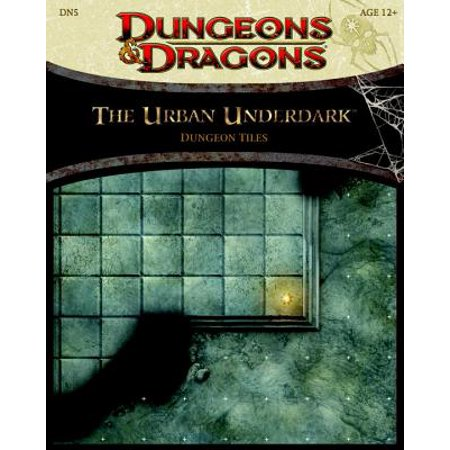 The Urban Underdark - Dungeon Tiles (Dungeons & Dragons) Dungeons And Dragons 4th Edition Books