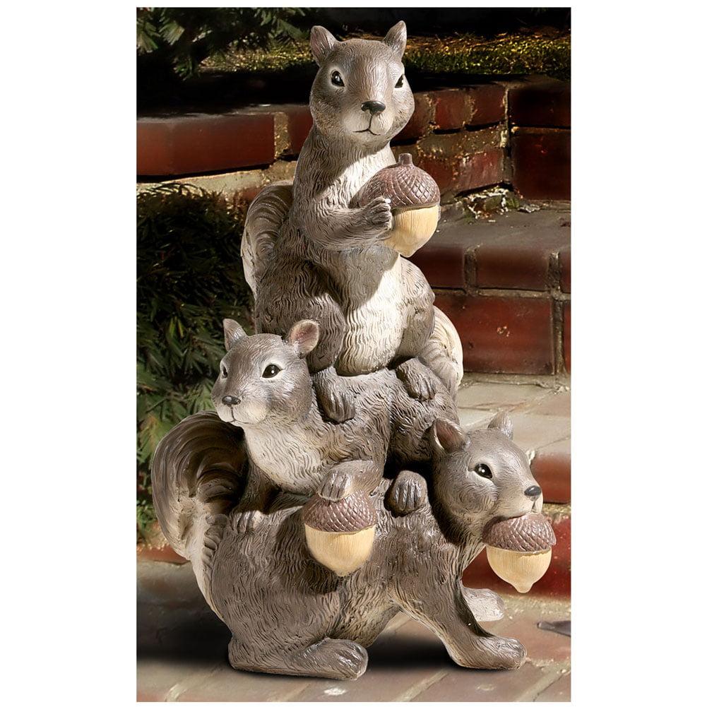Exclusive Squirrel Totem Garden Statue