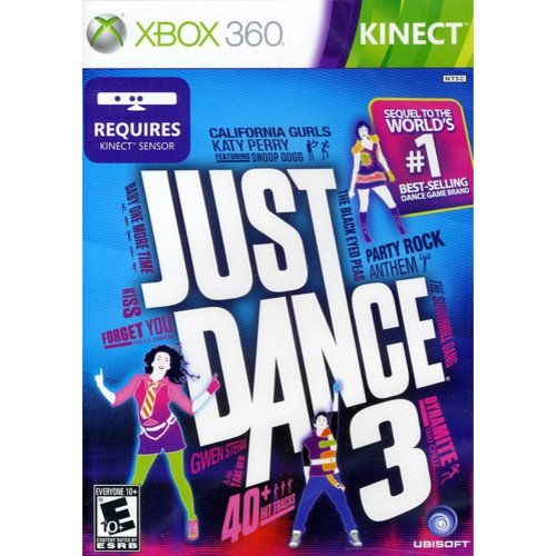 JUST DANCE 3 X360 MISCELLANEOUS
