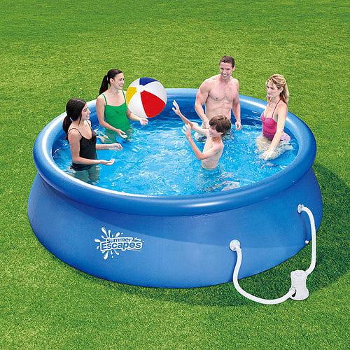 """Summer Escapes 12' X 30"""" Quick Set Swimming Pool"""