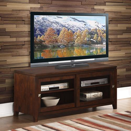 WyndenHall  Essex Coffee Brown TV Media Stand for TV's up to 42 Inches