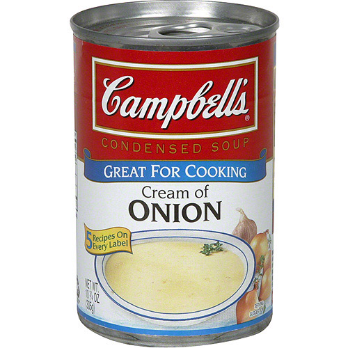 Campbell's Cream Of Onion Condensed Soup, 10.75 oz (Pack of 12)