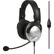 Koss SB49 Full Size Communication Headsets - Mini-phone - Wired - 100 Ohm - 18 Hz - 20 kHz - Over-the-head - Binaural -