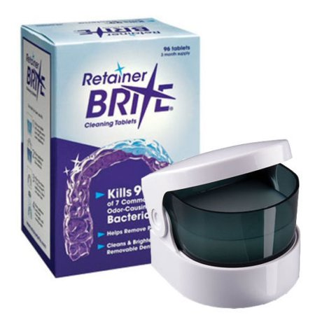 Retainer Brite 96 Count Box (3 Month Supply) PLUS Sonic