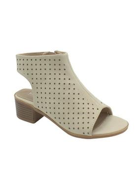 98de4d51dcae5 Product Image Mason-18 Girls High Heel Peep Toe Bootie Black 12