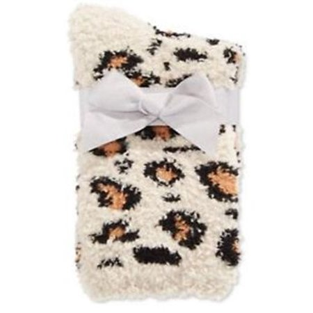 Leopard Smock - Charter Club Super Soft Socks Leopard Pair of Two  9-11