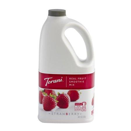 - Torani Real Fruit Smoothie Strawberry